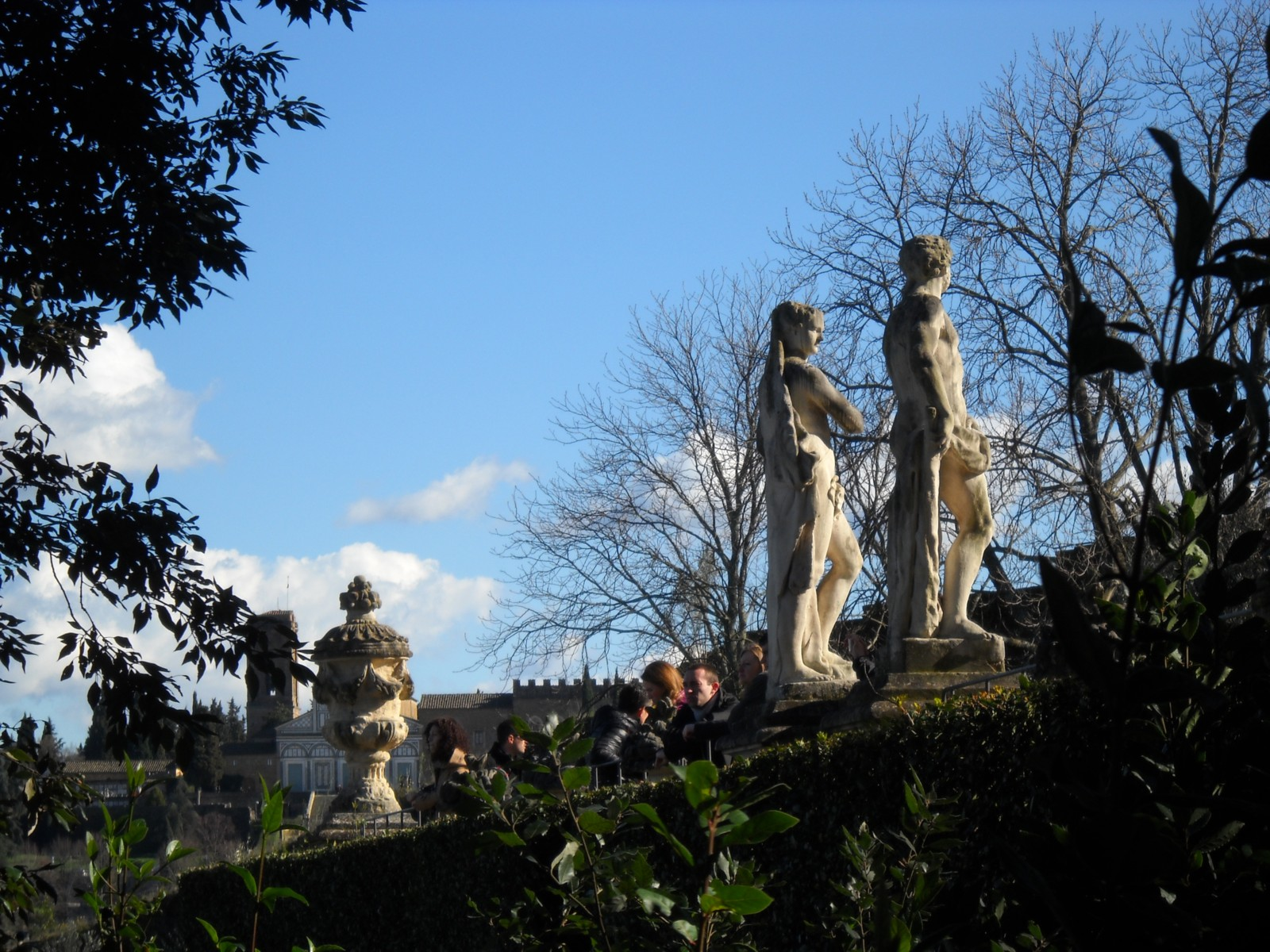 Der Giardino Bardini in Florenz - Agriturismo Villa La Rogaia